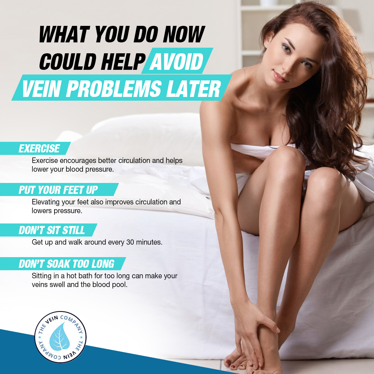 What You Do Now Could Help Avoid Vein Problems Later [Infographic]